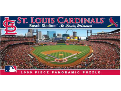 St. Louis Cardinals Panoramic Stadium Puzzle