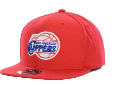 Los Angeles Clippers Mitchell and Ness NBA Current Logo Fitted Cap