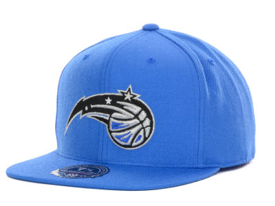 Orlando Magic Mitchell and Ness NBA Current Logo Fitted Cap