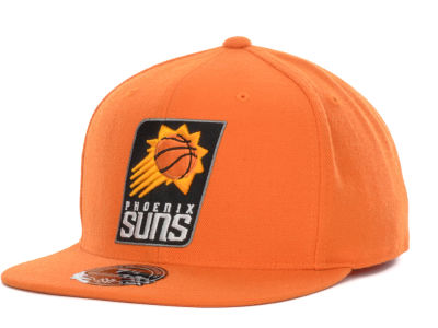 Phoenix Suns Mitchell and Ness NBA Current Logo Fitted Cap