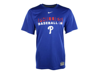 Philadelphia Phillies Nike MLB Men's Authentic Collection Dri-Fit Legend Team Issue T-Shirt
