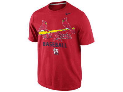St. Louis Cardinals Nike MLB Men's Away Practice T-Shirt 1.4