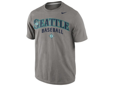 Seattle Mariners Nike MLB Men's Away Practice T-Shirt 1.4