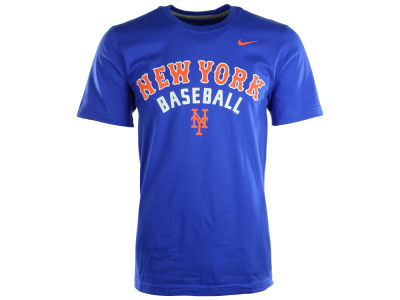 New York Mets Nike MLB Men's Away Practice T-Shirt 1.4