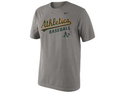 Oakland Athletics Nike MLB Men's Away Practice T-Shirt 1.4