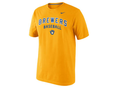 Milwaukee Brewers Nike MLB Men's Practice T-Shirt