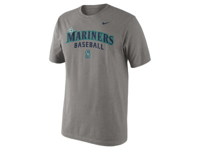 Seattle Mariners Nike MLB Men's Practice T-Shirt 1.4