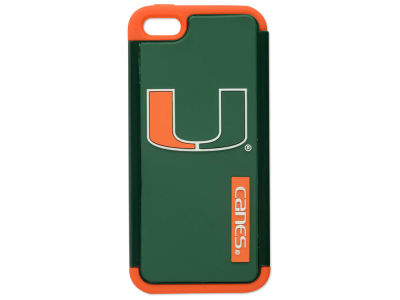 Miami Hurricanes iPhone SE Dual Hybrid Case