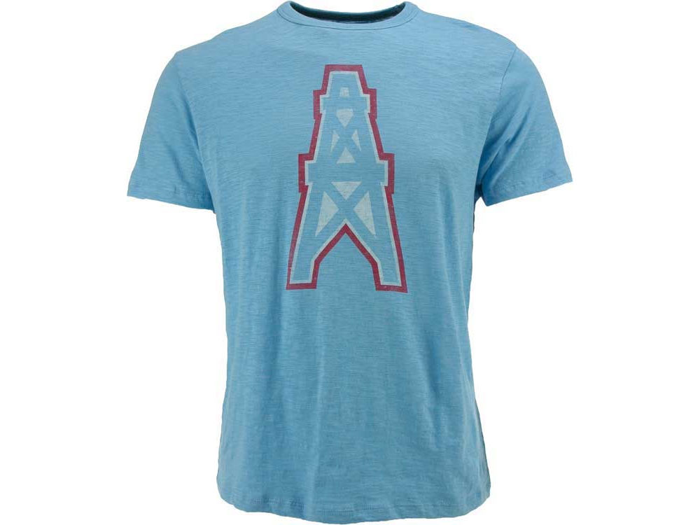 Houston Oilers  47 NFL Retro Logo Scrum T-Shirt  c7510a7ac