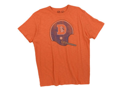 Denver Broncos '47 NFL Retro Helmet Scrum T-Shirt