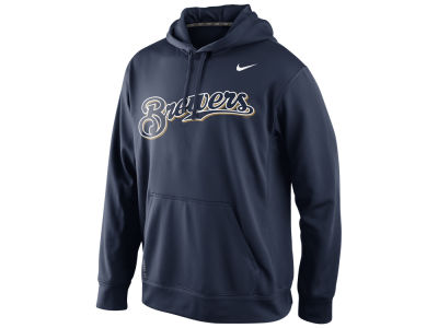 Milwaukee Brewers Nike MLB Men's Performance Hoodie