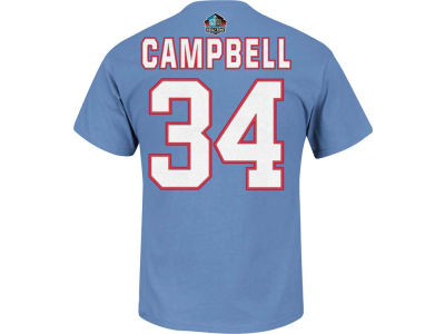 Houston Oilers Earl Campbell NFL Hall Of Fame Eligible Receiver T-Shirt