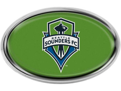 Seattle Sounders FC Chrome Auto Emblem