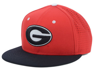 Georgia Bulldogs Nike NCAA Authentic Vapor Fitted Cap