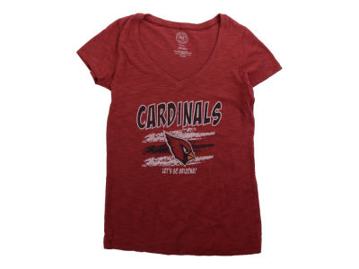 Arizona Cardinals '47 NFL Womens Lets Go Scrum V-neck