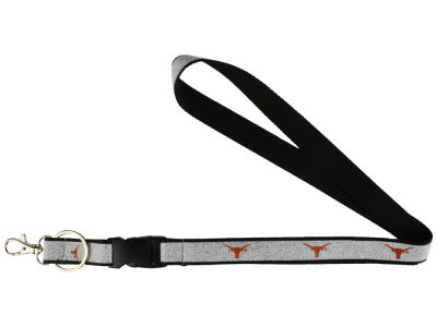 Texas Longhorns Sparkle Lanyard-Aminco