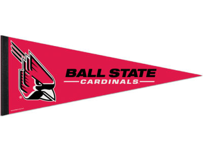 Ball State Cardinals 12x30in Pennant