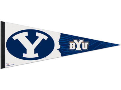 Brigham Young Cougars 12x30in Pennant