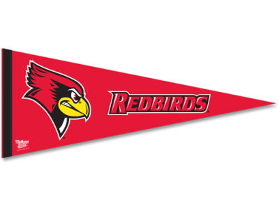 Illinois State Redbirds 12x30in Pennant