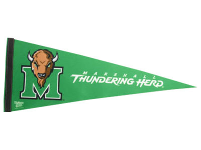 Marshall Thundering Herd 12x30in Pennant