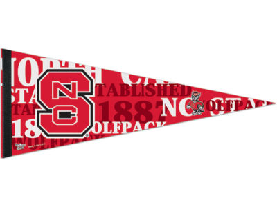 North Carolina State Wolfpack 12x30in Pennant