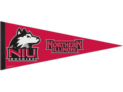 Northern Illinois Huskies 12x30in Pennant