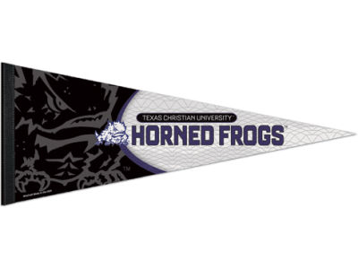 Texas Christian Horned Frogs Wincraft 12x30in Pennant