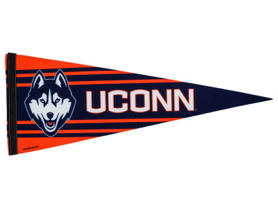 Connecticut Huskies 12x30in Pennant