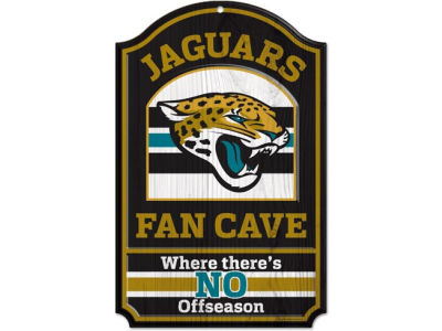 Jacksonville Jaguars 11x17 Wood Sign
