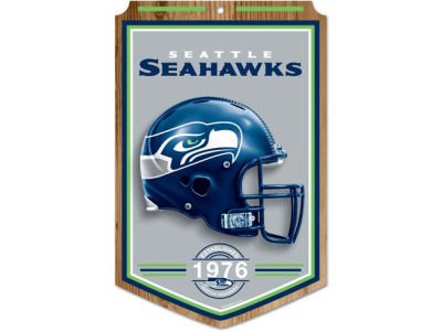 Seattle Seahawks 11x17 Wood Sign