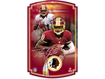 Washington Redskins 11x17 Wood Sign