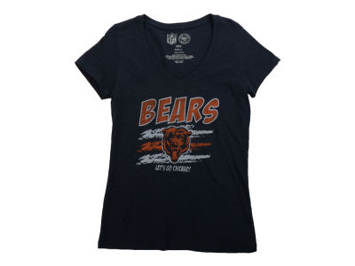 Chicago Bears '47 NFL Womens Lets Go Scrum V-neck