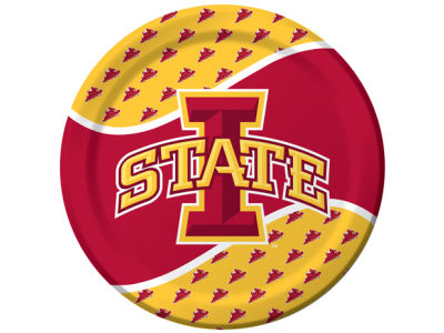 Iowa State Cyclones 8 Count 9 Inch Dinner Plate