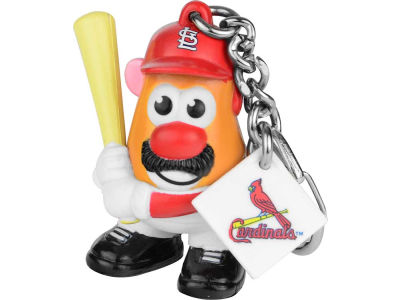 St. Louis Cardinals Mr. Potato Head Keychain