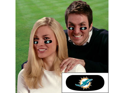 Miami Dolphins Team Eyeblack Strips