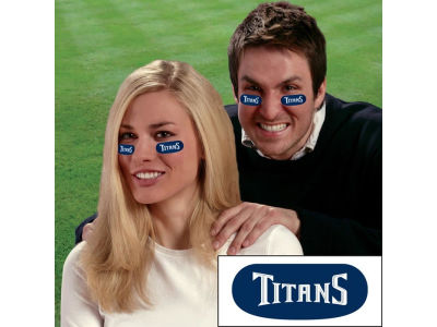 Tennessee Titans Team Eyeblack Strips