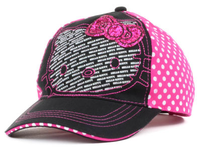 Hello Kitty Hello Kitty Youth Polka Dot Back Baseball Cap