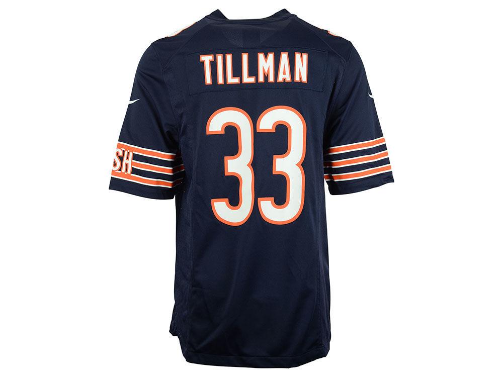 Chicago Bears Charles Tillman Nike NFL Men s Game Jersey  46c336999