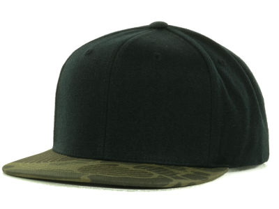Top of the World Blanks Camo Snapback Cap