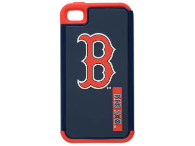 Boston Red Sox Iphone 4 Dual Hybrid Case