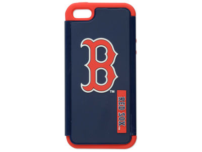 Boston Red Sox iPhone SE Dual Hybrid Case