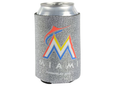 Miami Marlins Glitter Can Coozie