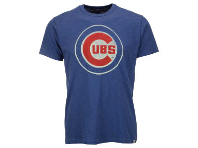 Chicago Cubs '47 MLB Men's Scrum Logo T-Shirt