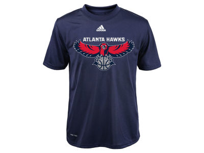 Atlanta Hawks NBA Youth Primary Logo Climalite T-Shirt