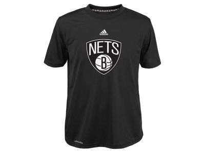 Brooklyn Nets NBA Youth Primary Logo Climalite T-Shirt