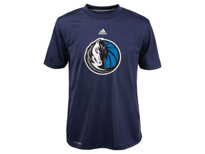 Dallas Mavericks NBA Youth Primary Logo Climalite T-Shirt