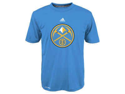Denver Nuggets NBA Youth Primary Logo Climalite T-Shirt