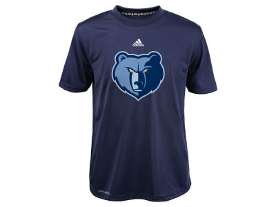 Memphis Grizzlies NBA Youth Primary Logo Climalite T-Shirt