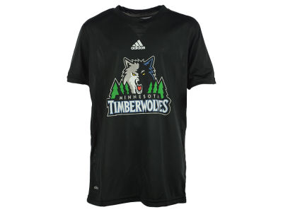 Minnesota Timberwolves NBA Youth Primary Logo Climalite T-Shirt