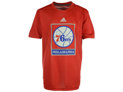 Philadelphia 76ers NBA Youth Primary Logo Climalite T-Shirt